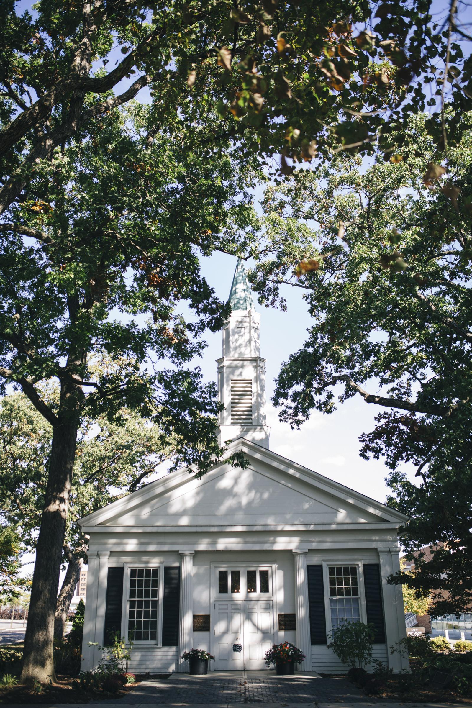 Bowling Green State University white chapel