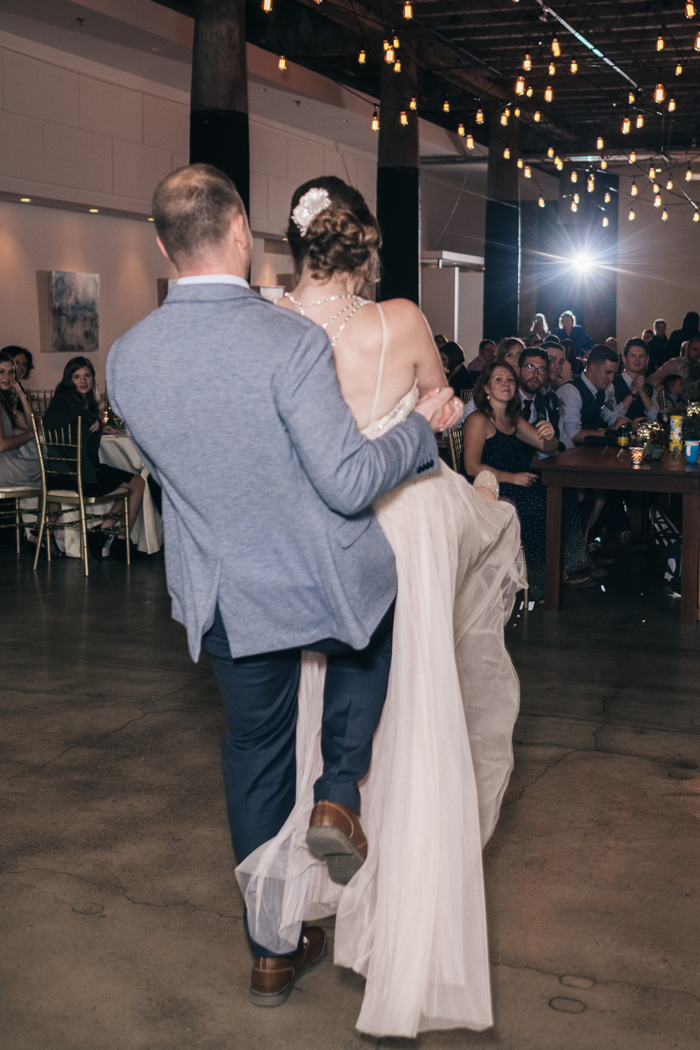 Choreographed dancing for wedding receptions is a fun way to keep your guests entertained