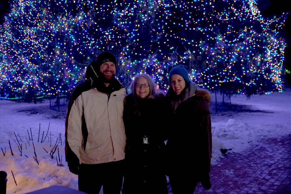The Lights Before Christmas at the Toledo Zoo.