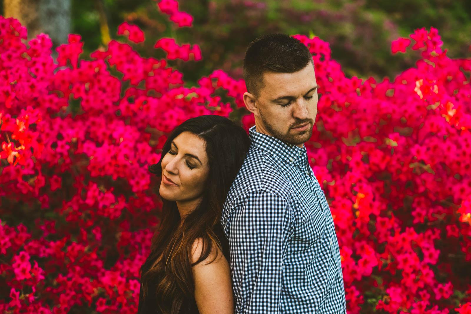Toledo Botanical Garden Engagement Session Toledo Wedding Photographers