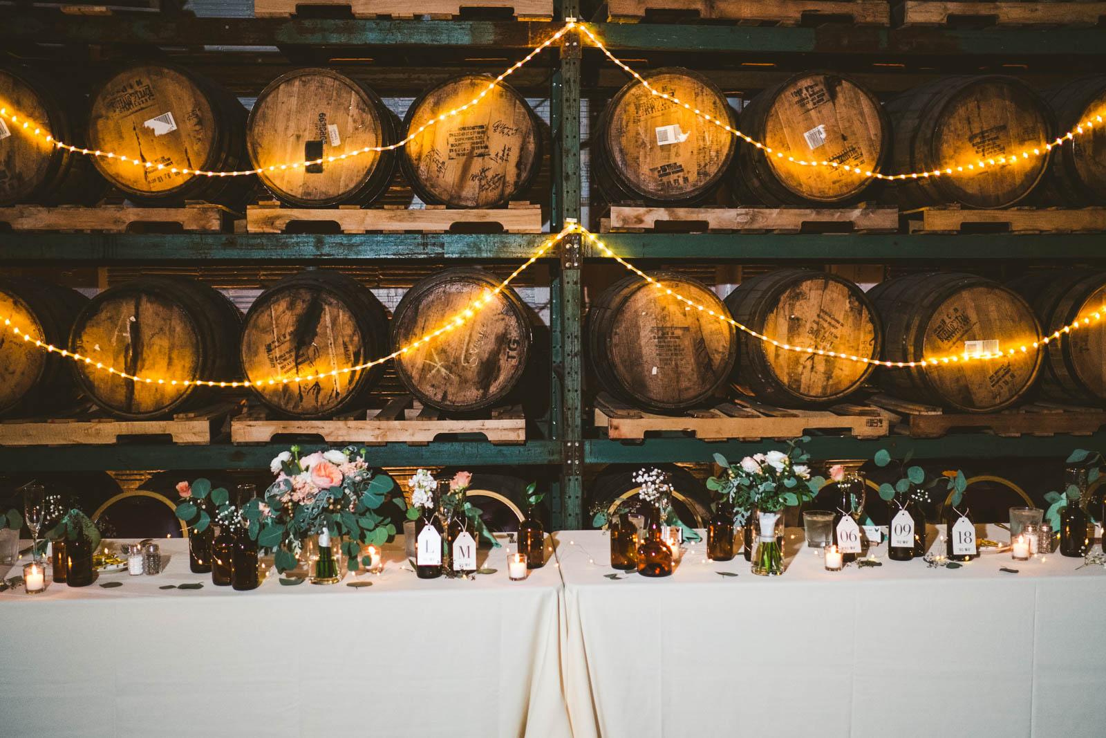 Wedding Reception at Maumee Bay Brewing Company in Toledo Ohio with Toledo Wedding Photographers