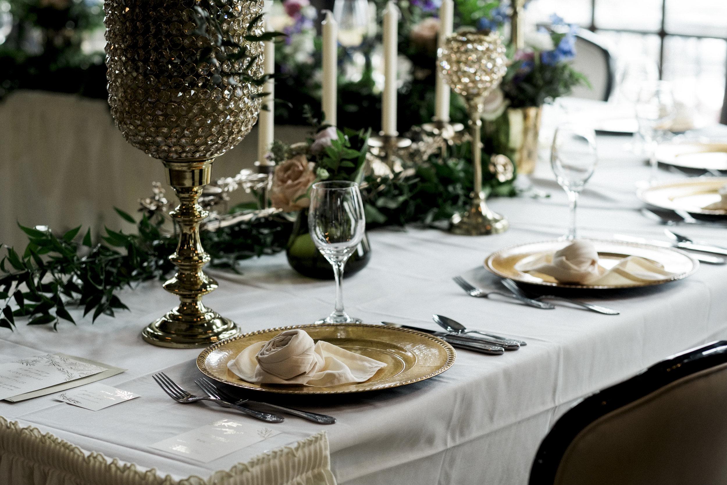 Toledo Club Styled Shoot with Wedding Photographers