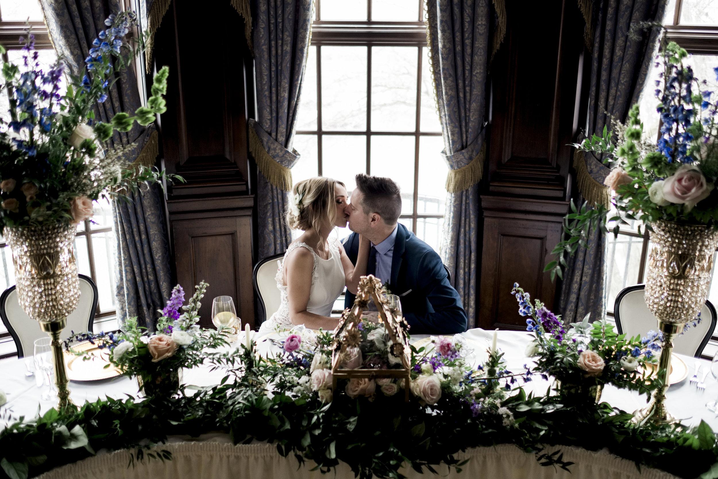 Toledo Wedding Photographers during Styled shoot at Toledo Club