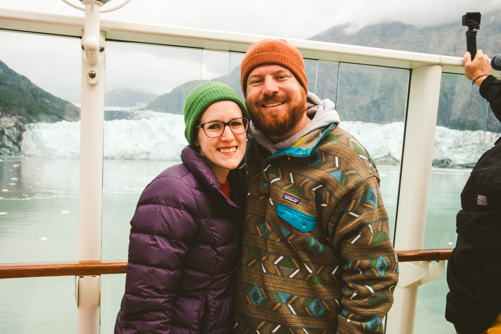 Toledo husband and wife destination photography duo travel to Alaska