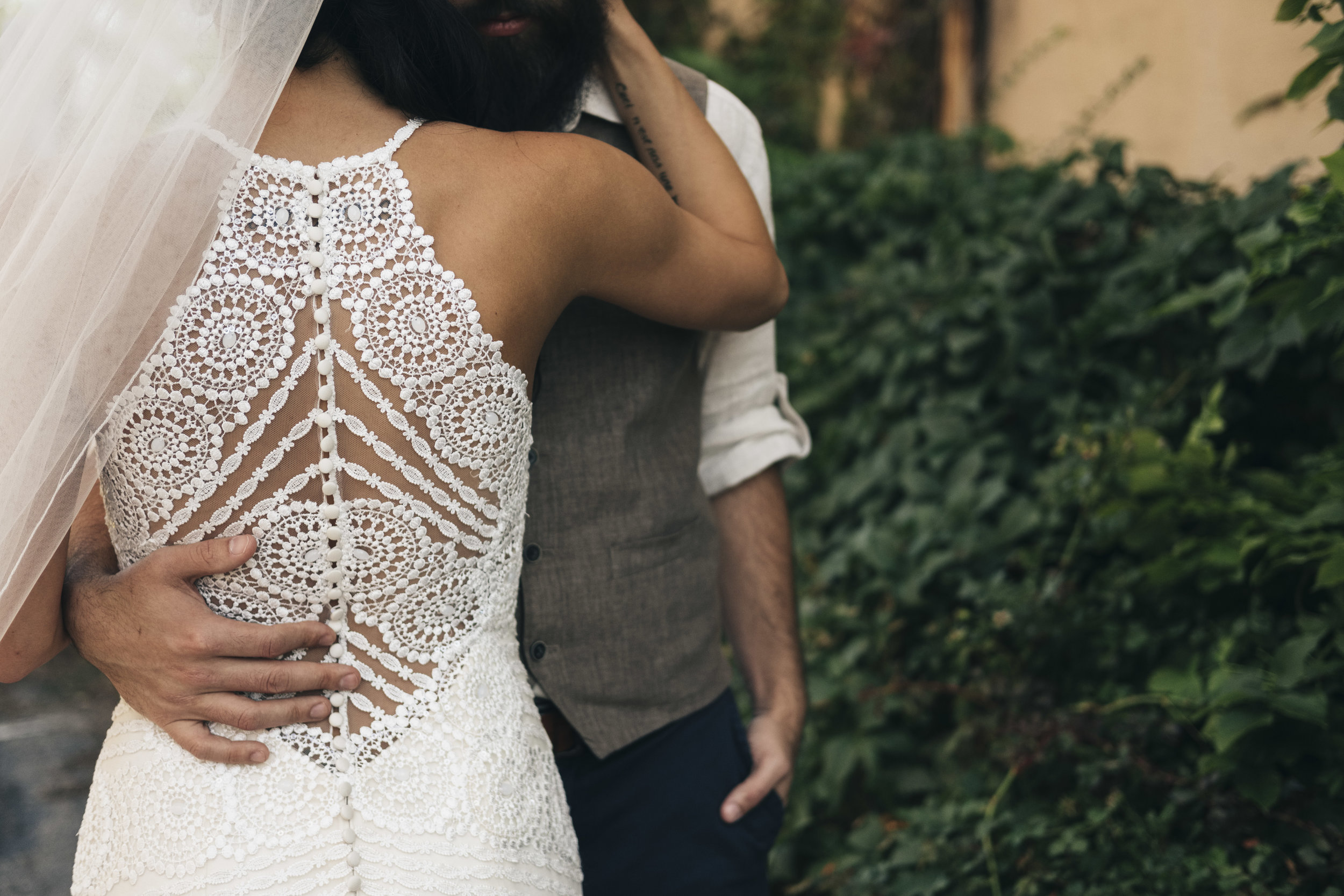 Wedding Dress Details and Inspiration with Toledo Photographers