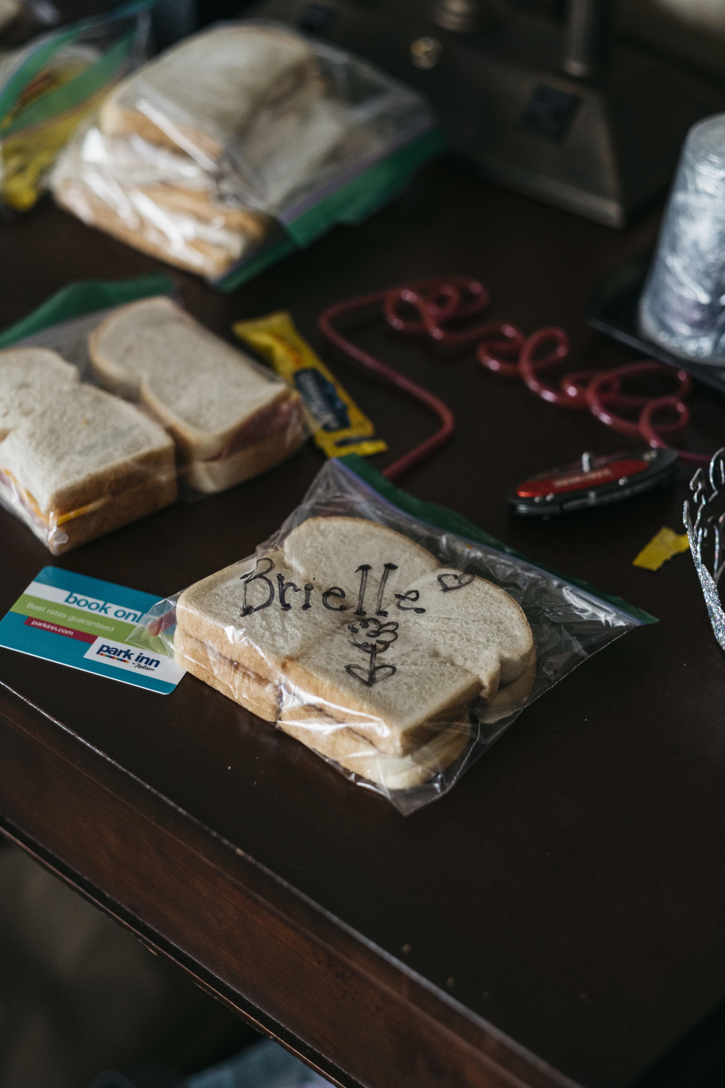 Food for Snacks before Wedding Day in Toledo Ohio