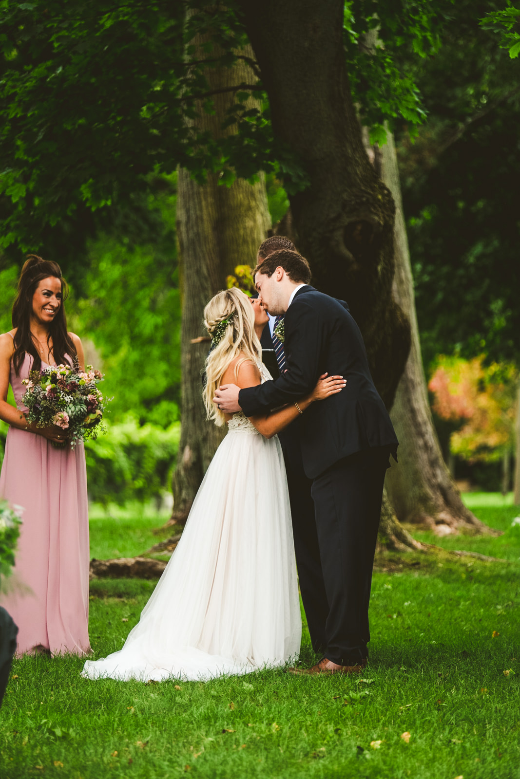 Wedding at Gervasi Vineyard with Toledo Ohio Wedding and Destination Photographers