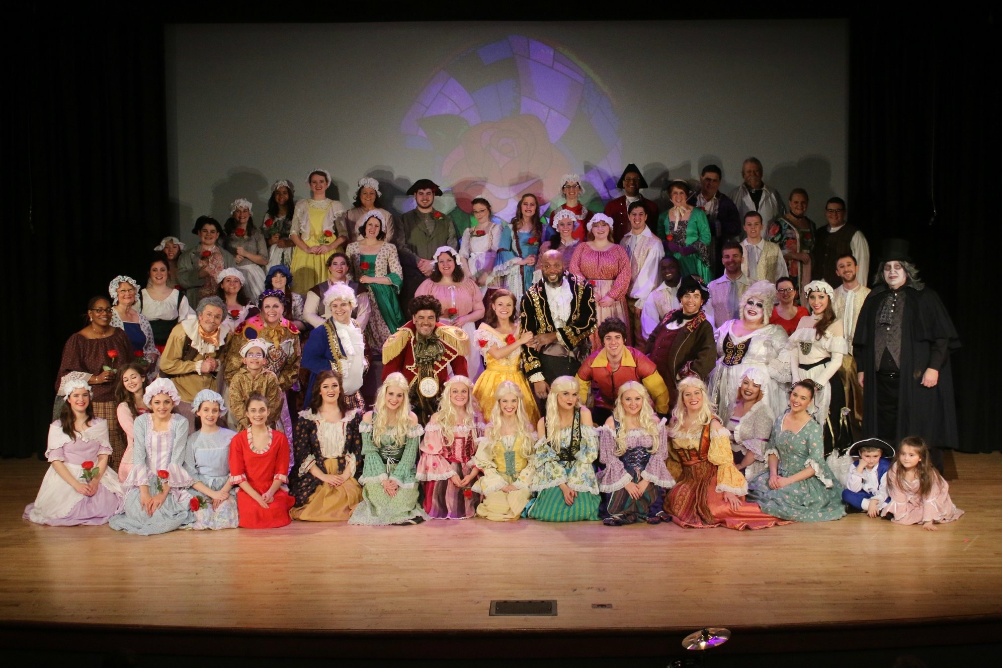 Beauty and the Beast Musical in Toledo Ohio Starring Wedding Photographer from the Northwest Ohio Area