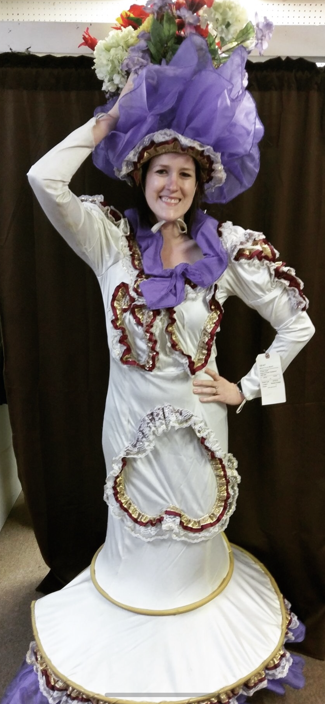 Toledo Wedding Photographer at Musical in Costume before Show