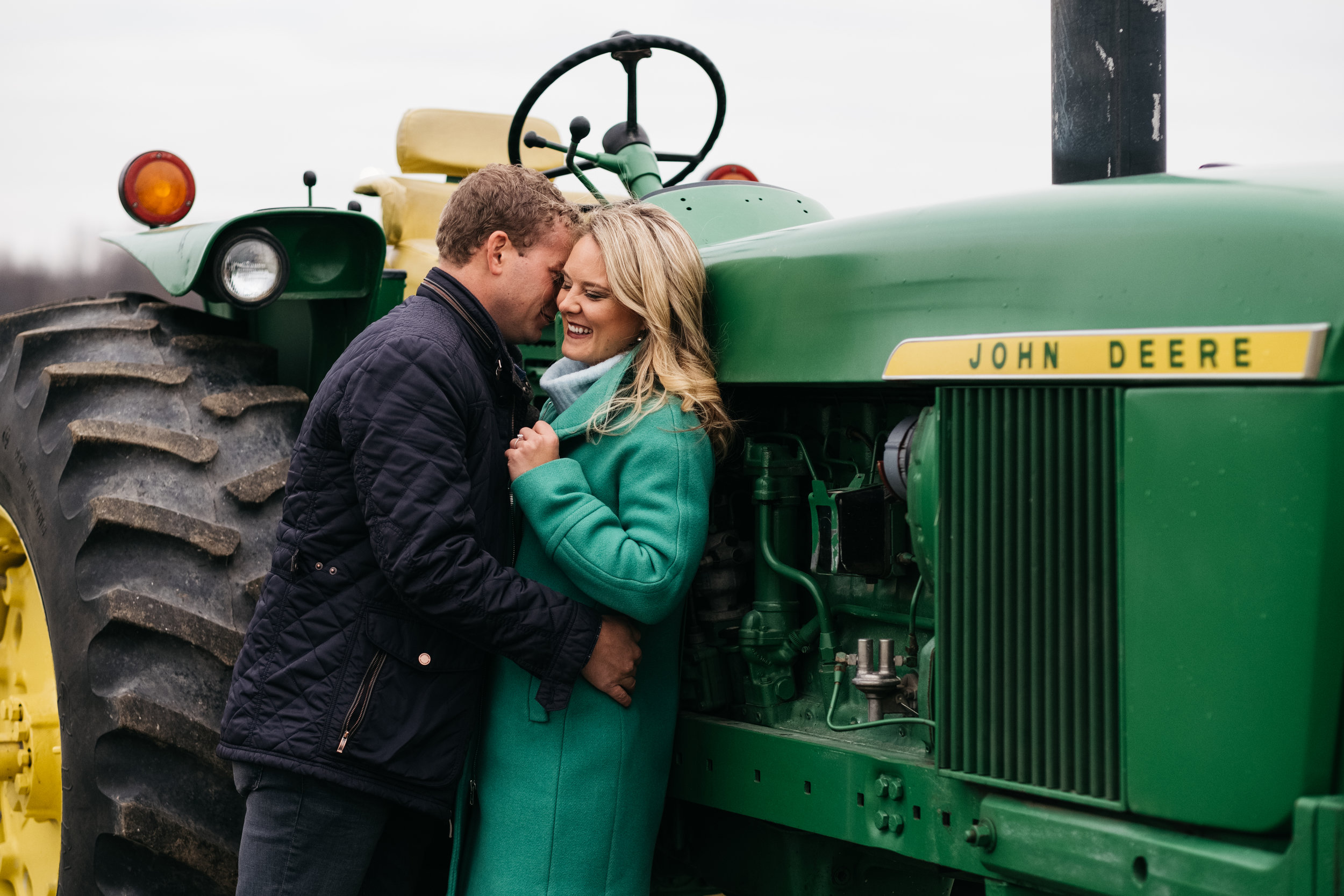 Schmidt Brothers Greenhouse Engagement Session with Photographers from Toledo Ohio