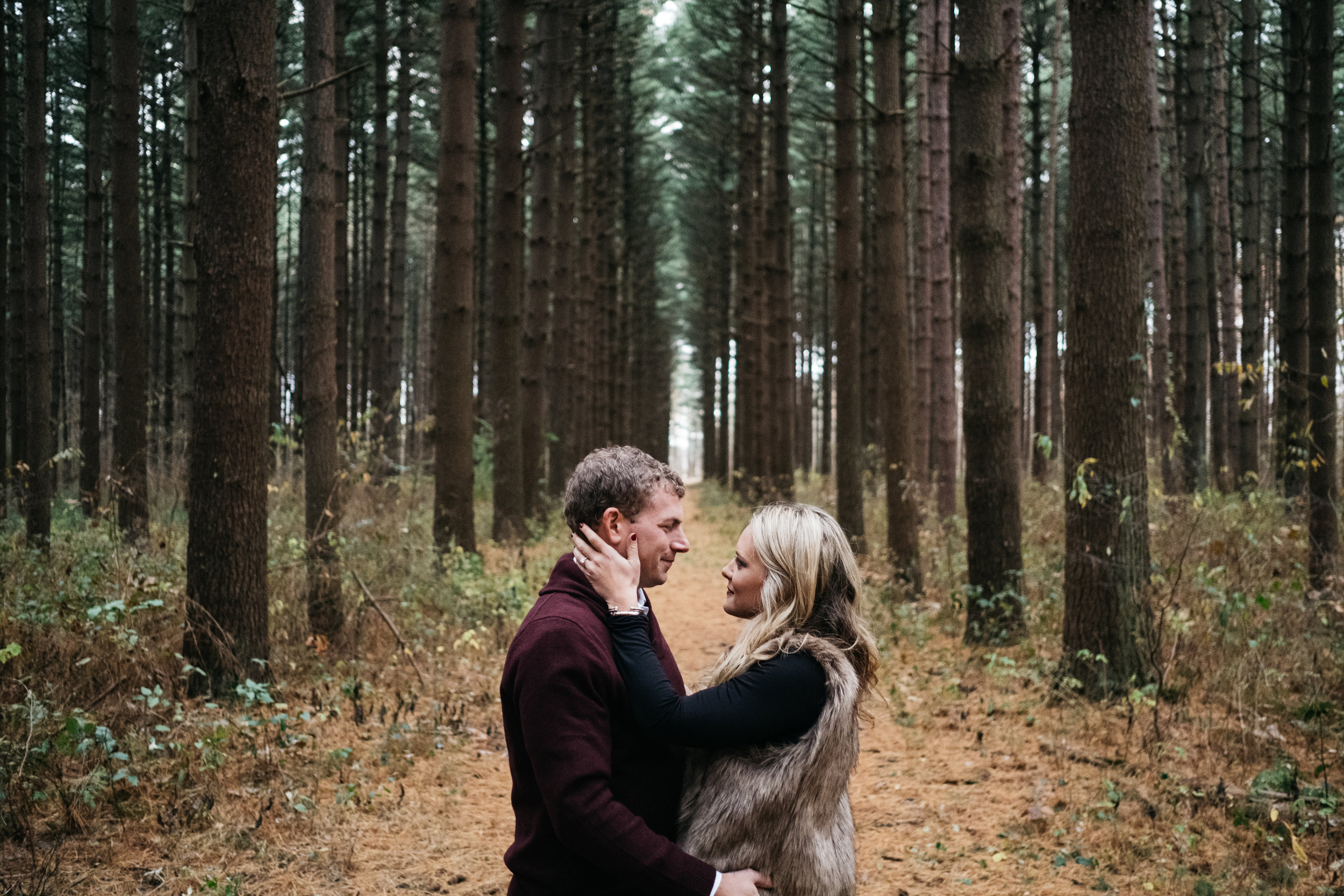 Oak Openings Engagement Session with Toledo Ohio Couple and Photographers from Northwest Ohio