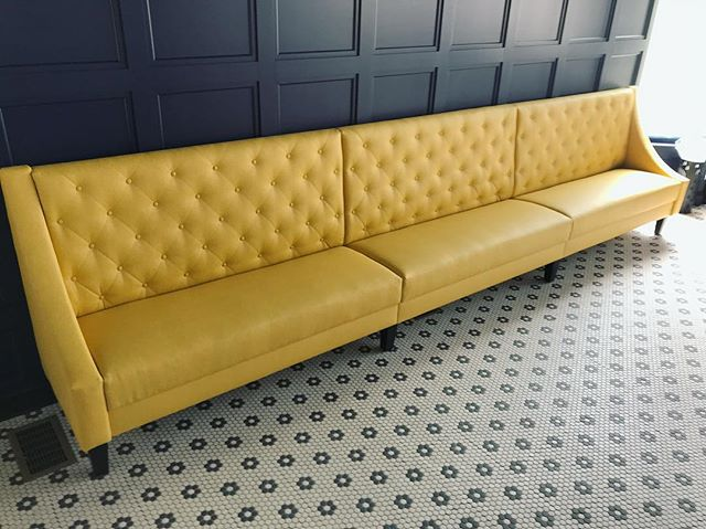 Cant wait to sip on some great vodka on our new banquette at Wodka Bar!👌🥟🍸