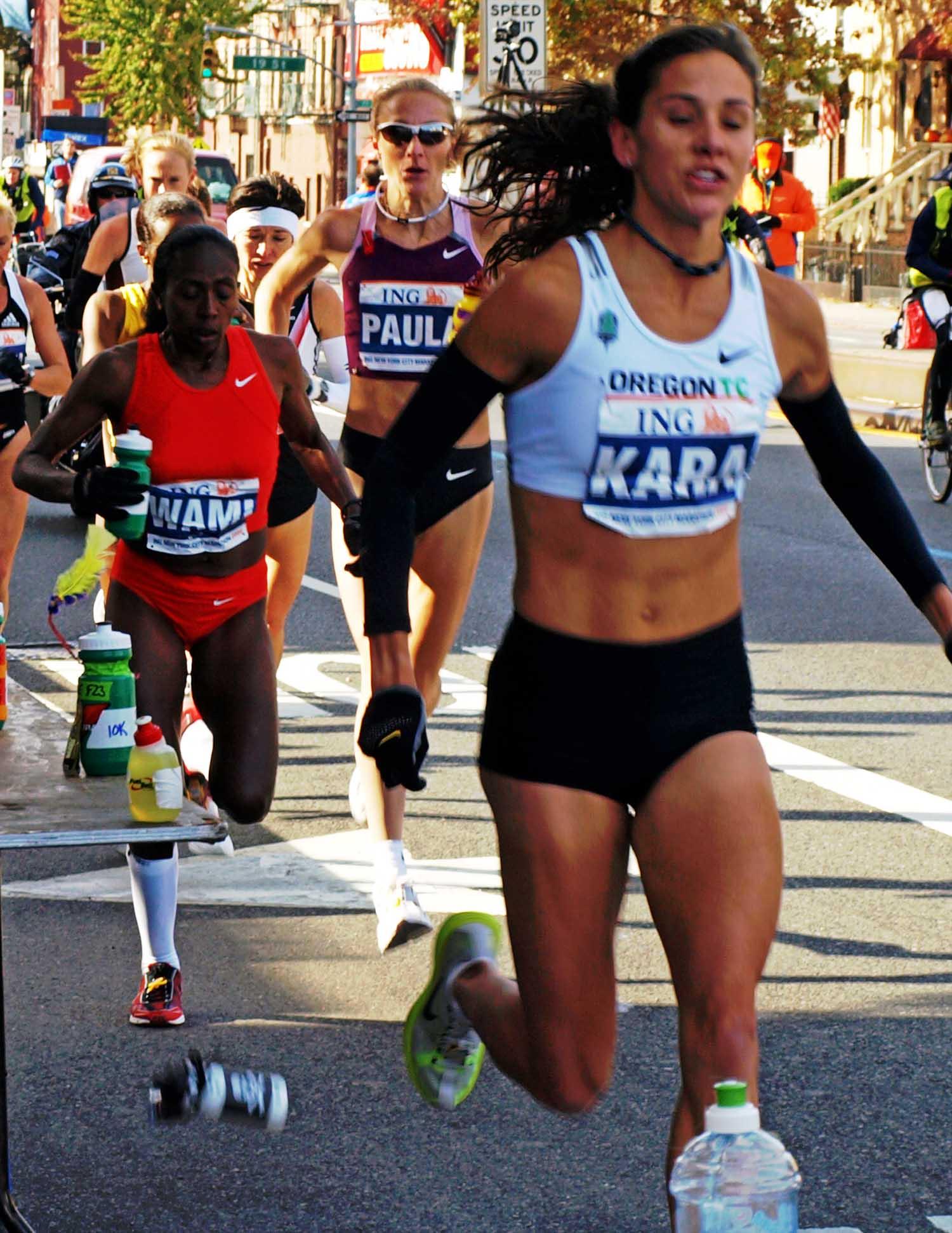 2008 Marathon - Kara Goucher