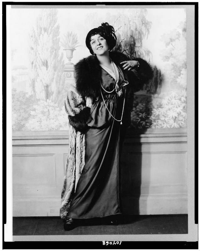 Lina Calvieri c. 1914