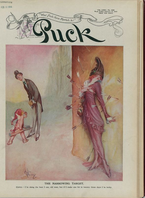 Puck Valentine's Day edition 1914