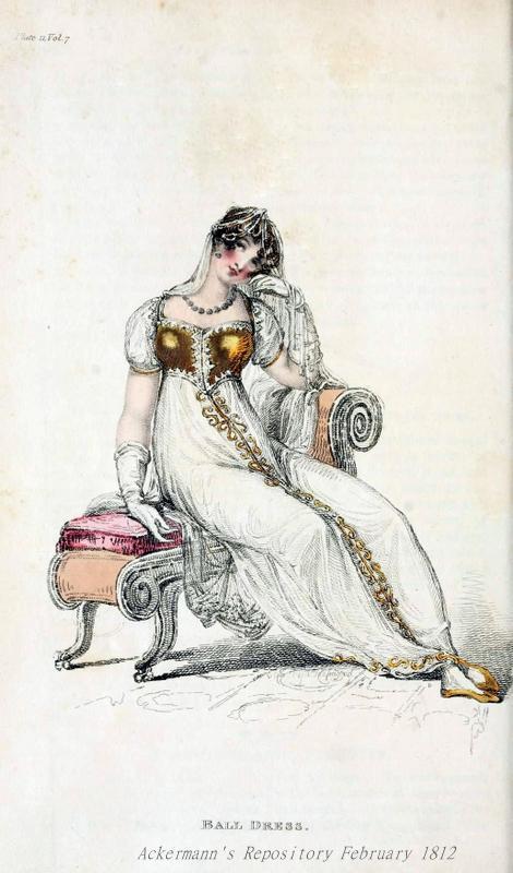 Ball Dress, Ackermann's Repository