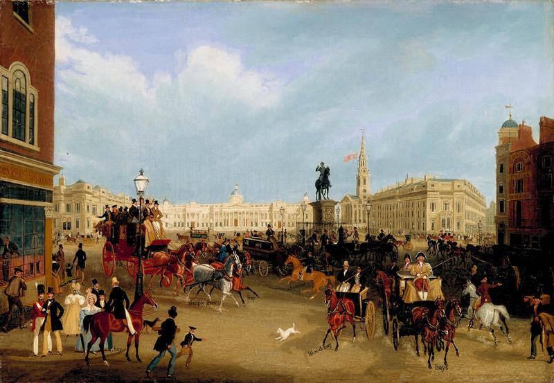 James Pollard, Trafalgar Square