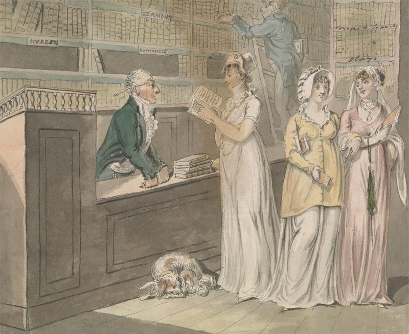 Cruikshank, The Lending Library