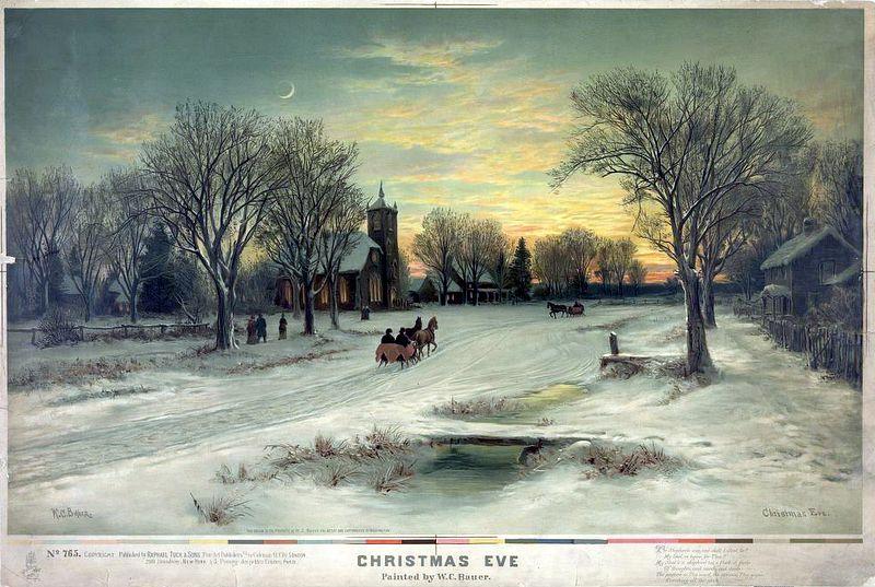 W. C. Bauer,   Christmas Eve
