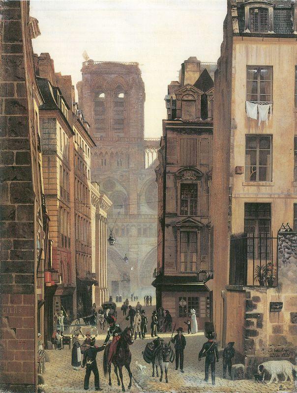 Rue neuve Notre Dame à Paris