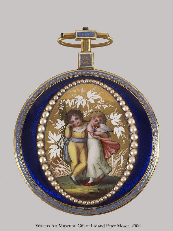 Chevalier et catchet watch