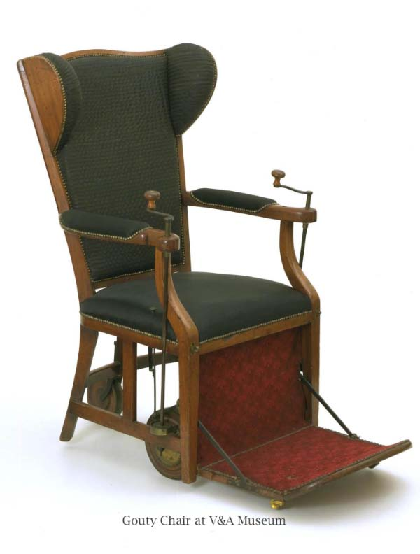 Gouty Chair at V&A