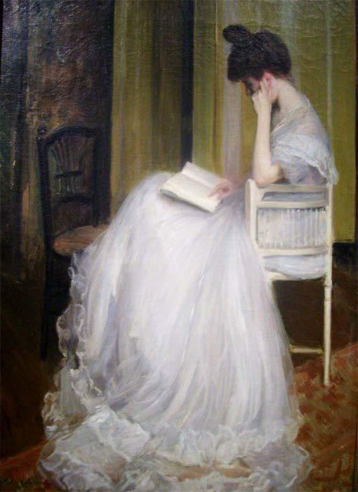 Jacques-Émile Blanche, Woman Reading (1890)