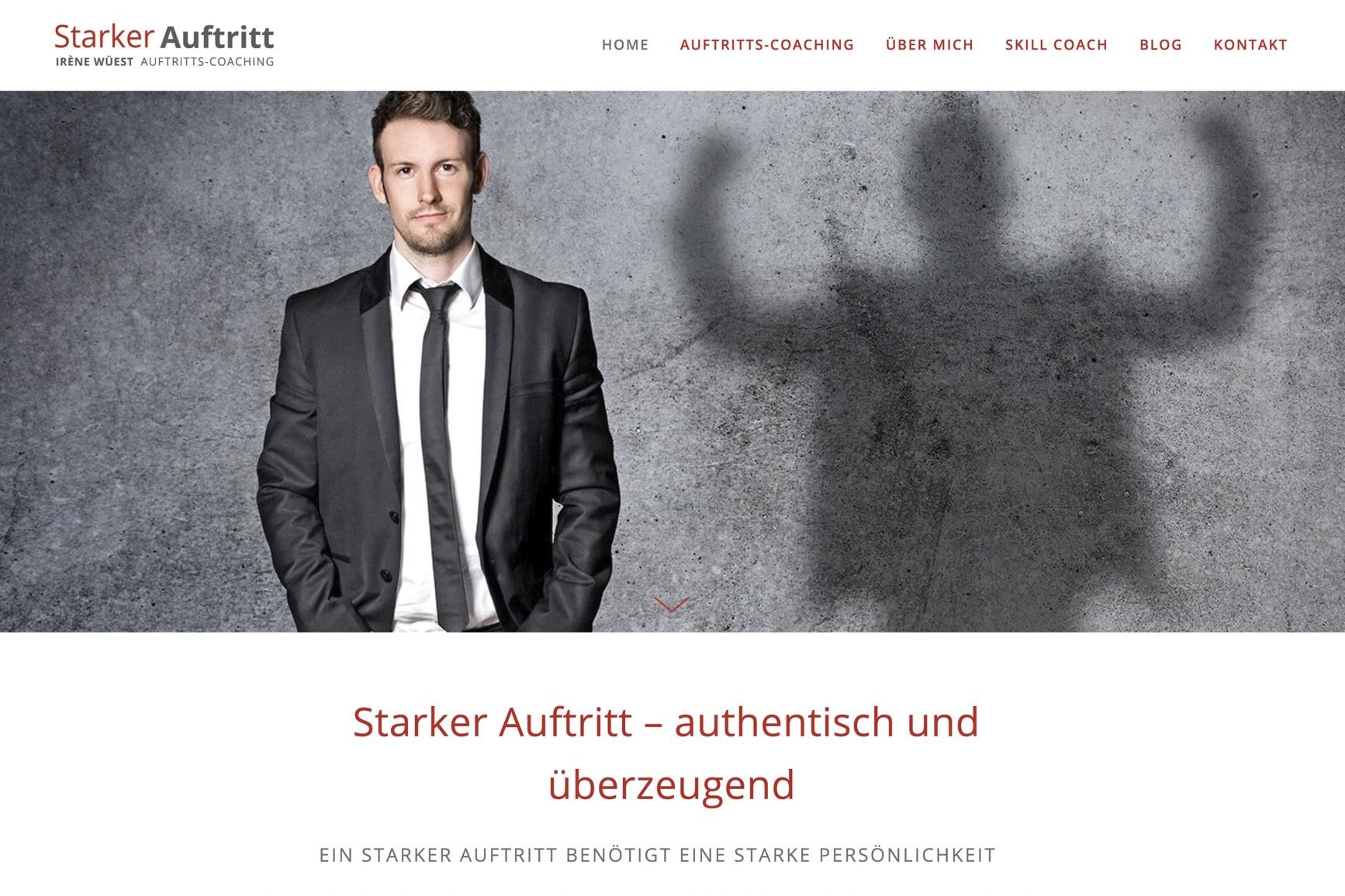 www.starkerauftritt.ch - Webdesign & Portraits