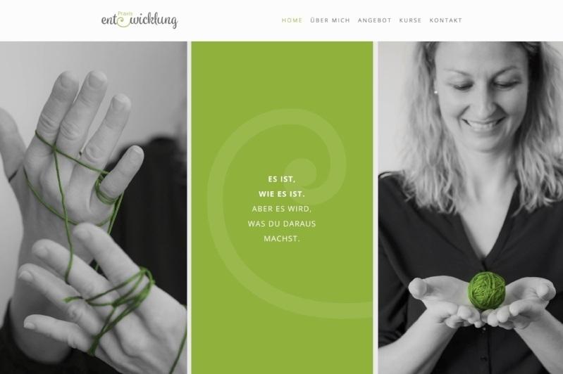 www.praxis-entwicklung.ch - Webdesign & z.T. Bilder