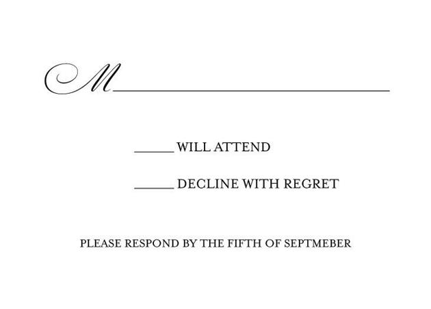 Response card.