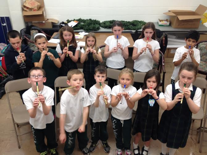 St. Juliana Tin Whistle First Day of Class