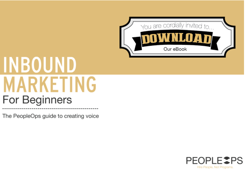 Click to Download Your Copy of Inbound Marketing For Beginners