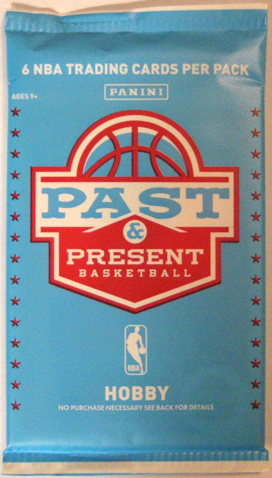 2012-13 Panini Past & Present Basketball Pack: Some of the best use of colour since the 80s. This pack is another winner from Panini, and makes a nice companion to its predecessor.