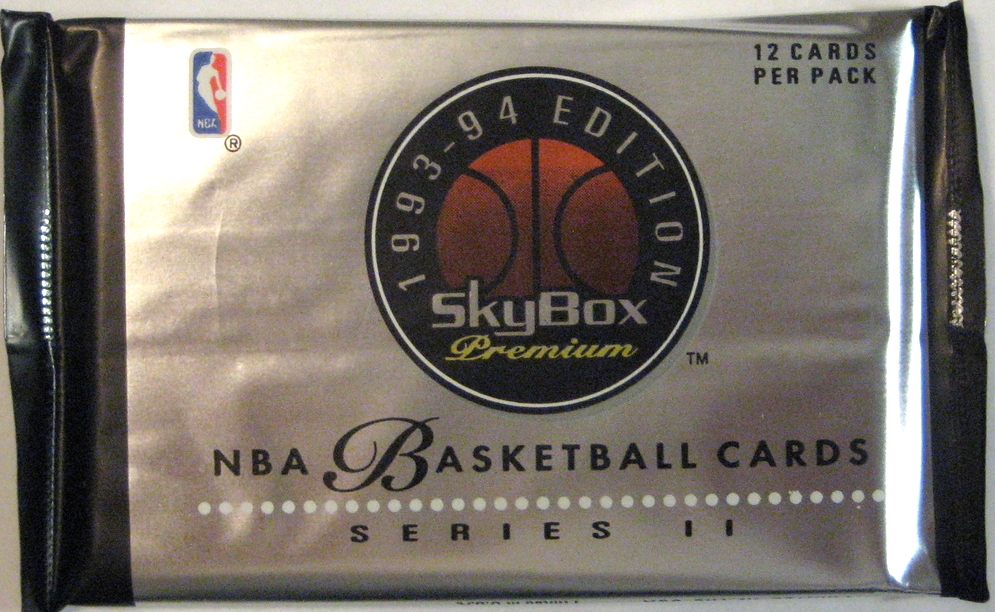 1993-94 Skybox Premium Series 2 Basketball Pack: Another beauty. Premium indeed.