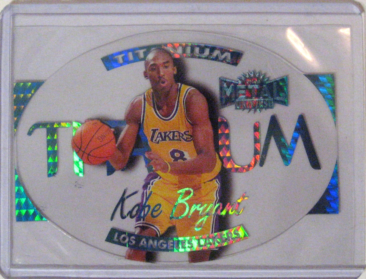 1997-98 Metal Universe Titanium Kobe Bryant.