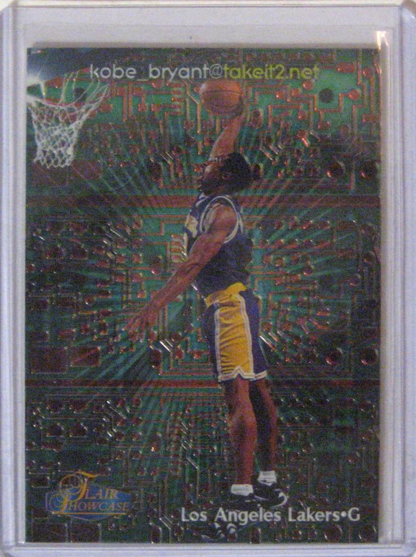 Kobe Bryant Cards Brad Vermunt