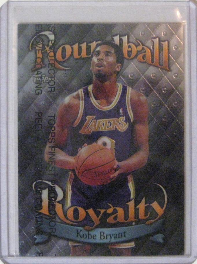 1998-99 Topps Roundball Royalty Kobe Bryant.