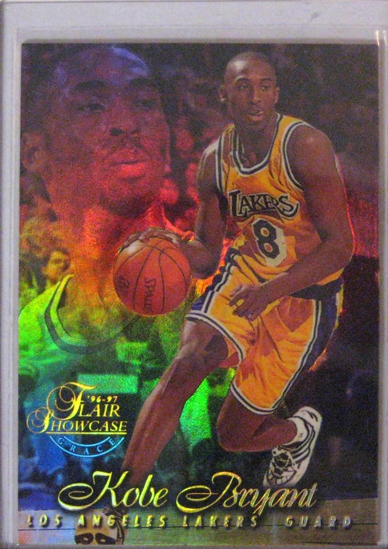 1996-97 Flair Showcase Row 1 Seat 31 Kobe Bryant.