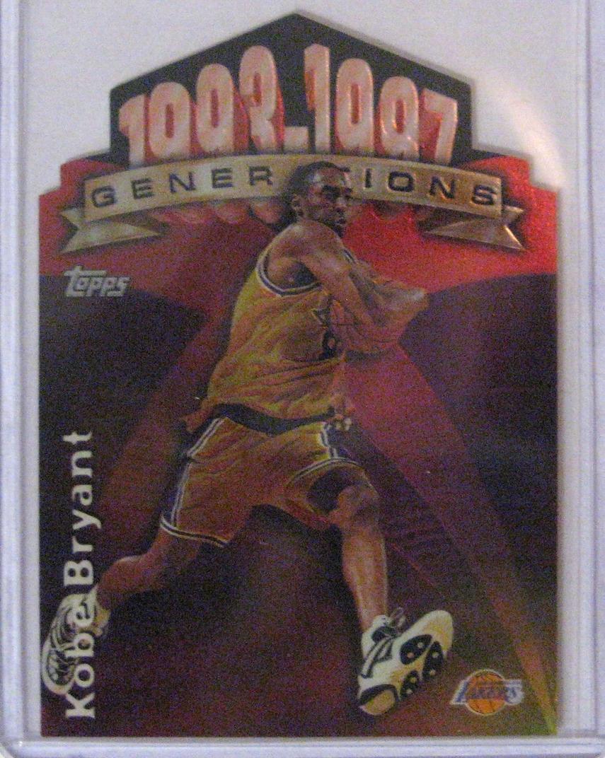 1997-98 Topps Generations Kobe Bryant.