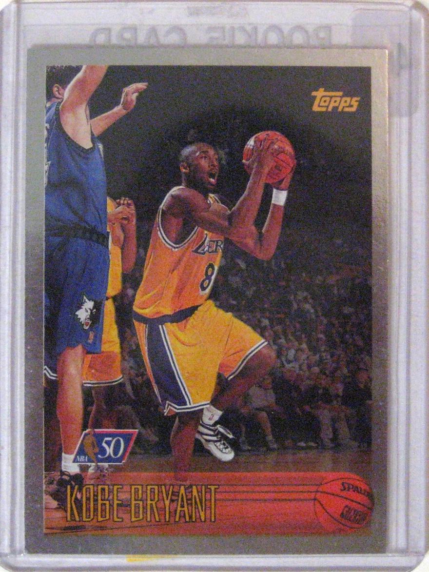 1996-97 Topps NBA at 50 Kobe Bryant