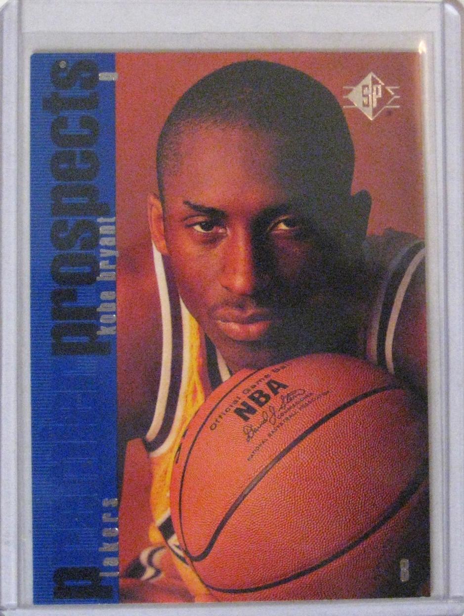 1996-97 SP Kobe Bryant Rookie Card