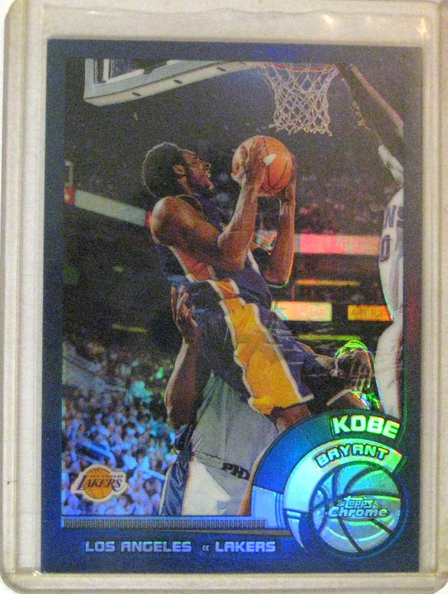 2003-04 Topps Chrome Refractor Kobe Bryant