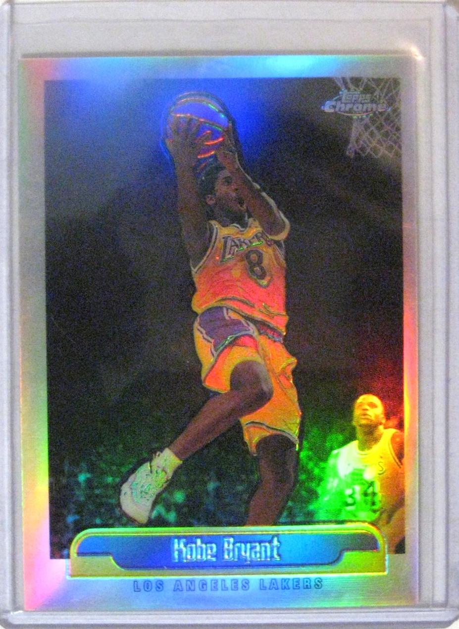1999-00 Topps Chrome Kobe Bryant Refractor