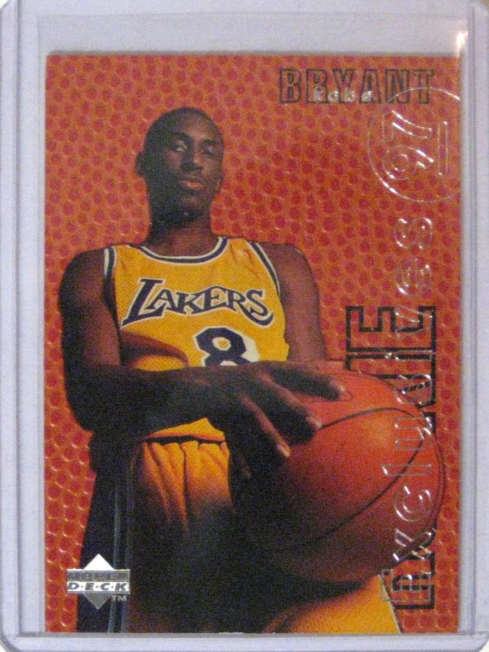 1996-97 Upper Deck Rookie Exclusives Kobe Bryant