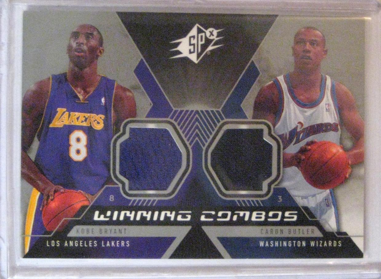 2005-06 SPX Winning Combos Kobe Bryant & Caron Butler