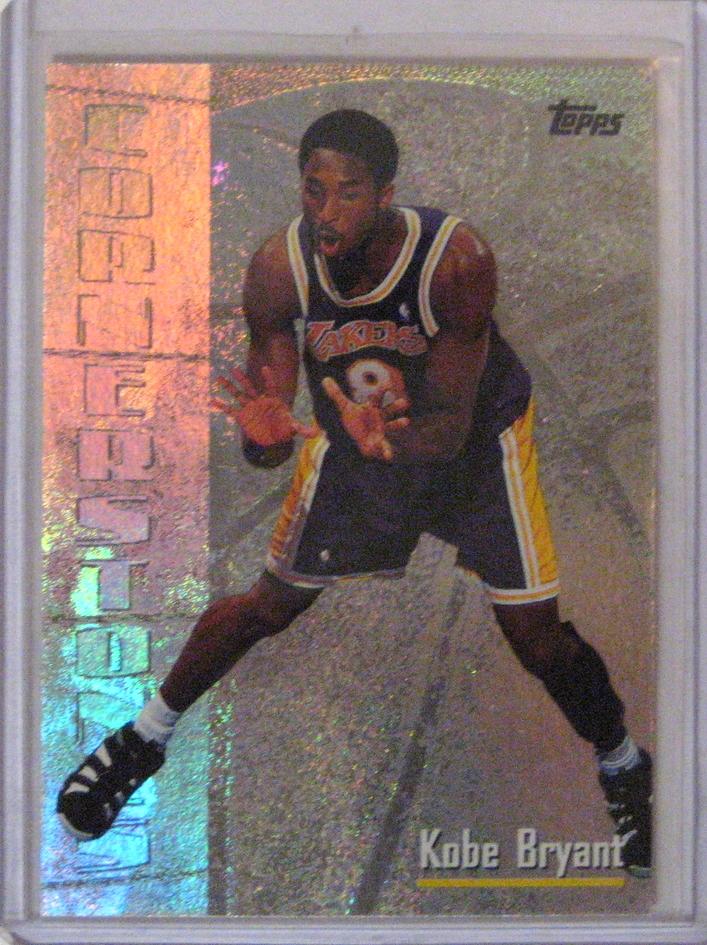 1998-99 Topps Chrome Cornerstones Kobe Bryant