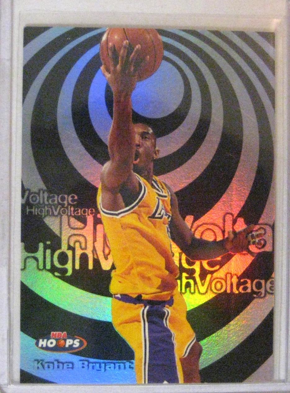 1997-98 Hoops High Voltage Kobe Bryant