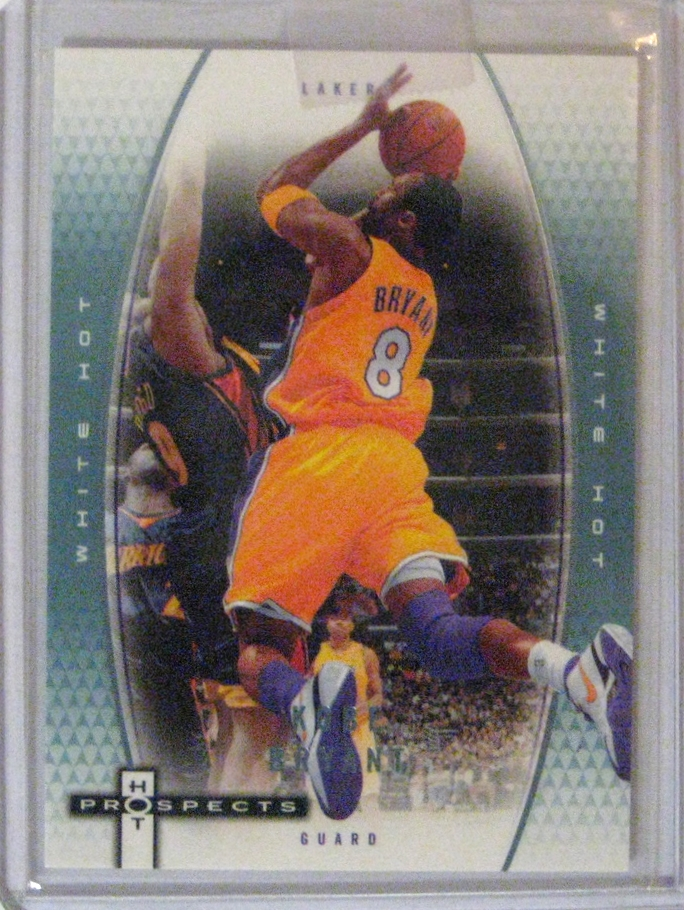 2006-07 Fleer Hot Prospects White Hot #/15: This is my most exclusive kobe card (outside of the Bams proof), numbered out of only 15.