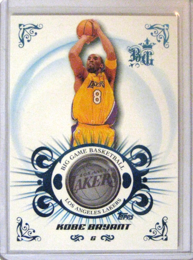2006-07 Topps Big Game Blue Kobe Bryant