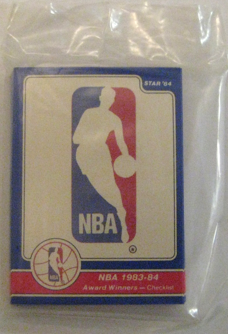 1984-85 Star Basketball Award Winners: This pack preceded Michael Jordan, so it's one of the less valuable star non-team packs, but it's still a nice clean design that features Magic, Isiah Thomas, Bird, and others.